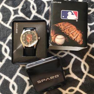NWT Sparo Men's SF Giants Wrist Watch